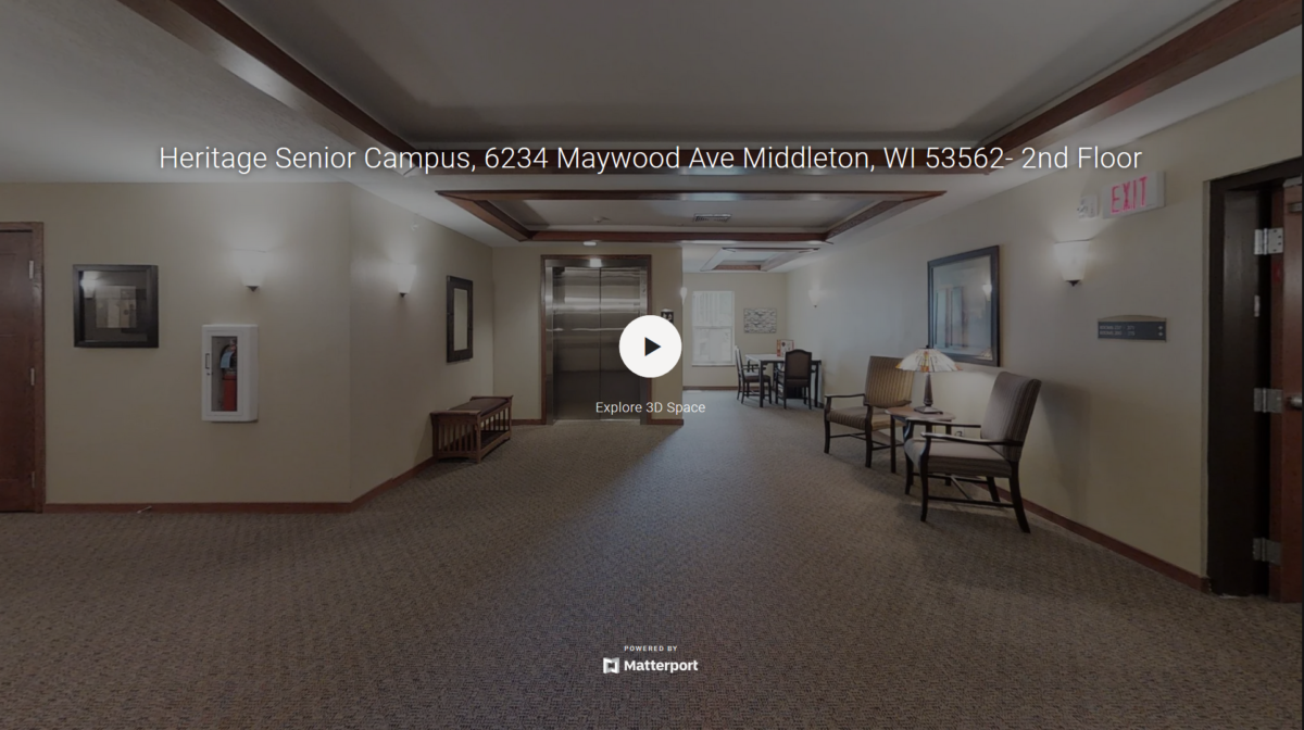 A 3D virtual tour of the Heritage Middleton community's second floor.