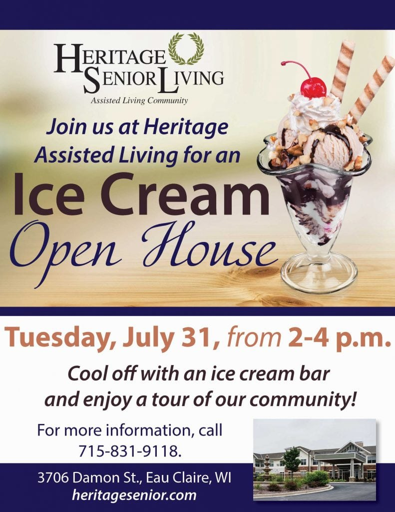 Heritage at Oakwood Hills Ice Cream Open House