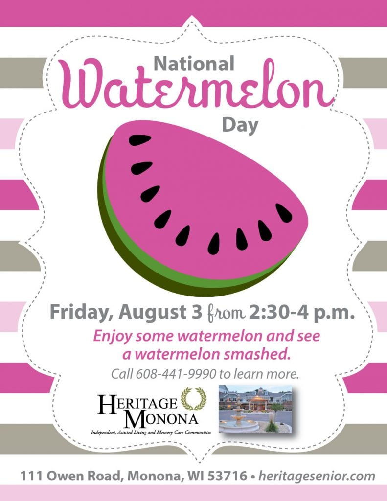Heritage Monona National Watermelon Day