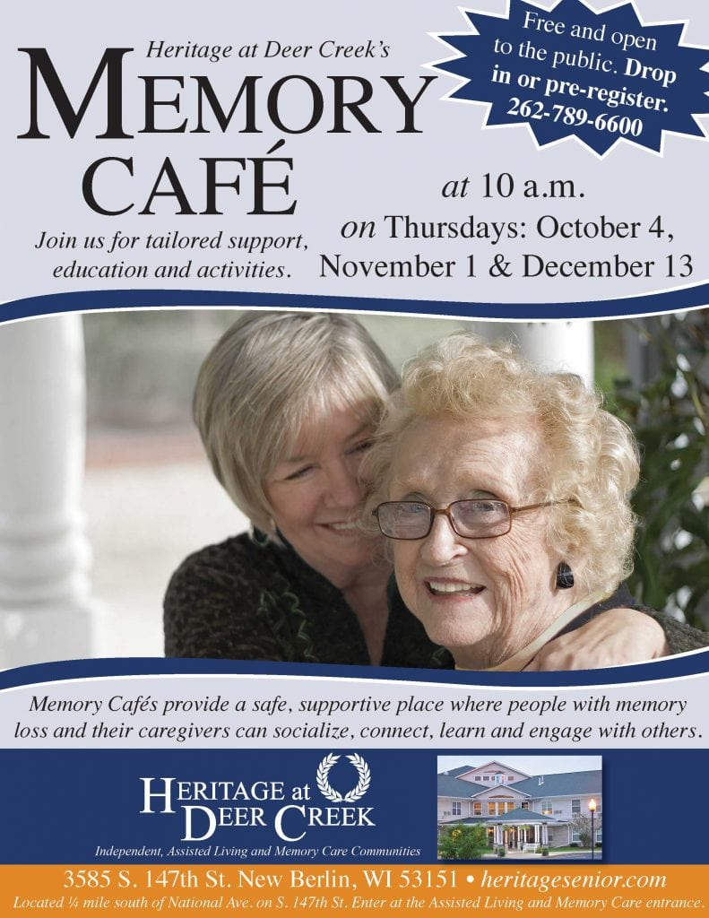 Heritage at Deer Creek Memory Cafe