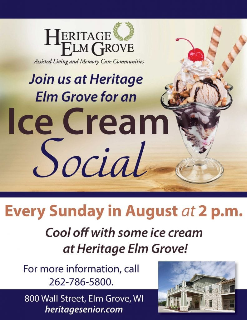 Elm Grove Ice Cream Social