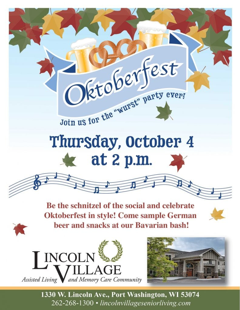 Lincoln Village Senior Living Oktoberfest