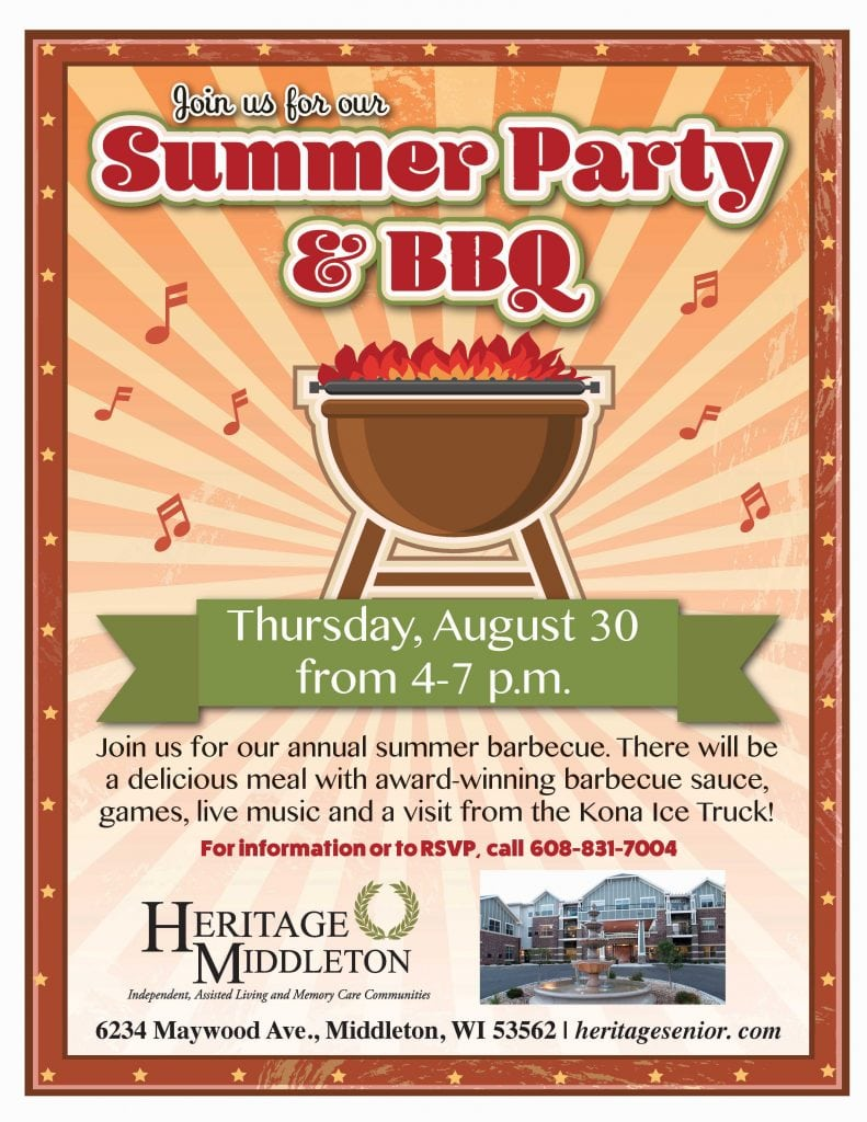 Heritage Middleton Summer Party and Barbecue