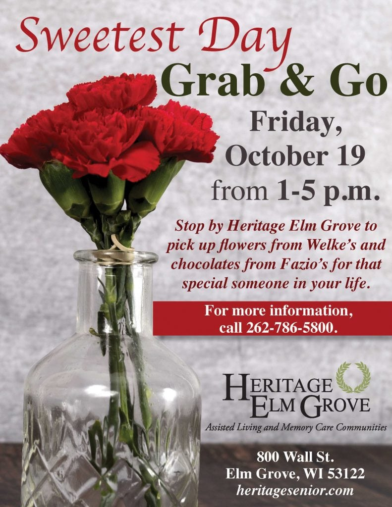 Heritage Elm Grove Sweetest Day Grab and Go