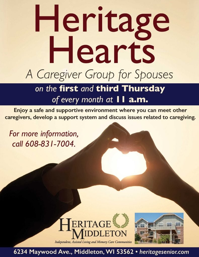 Heritage Middleton Heritage Hearts Support Group for Spouses