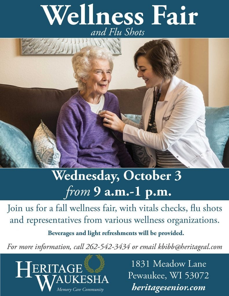 Heritage Waukesha Wellness Fair