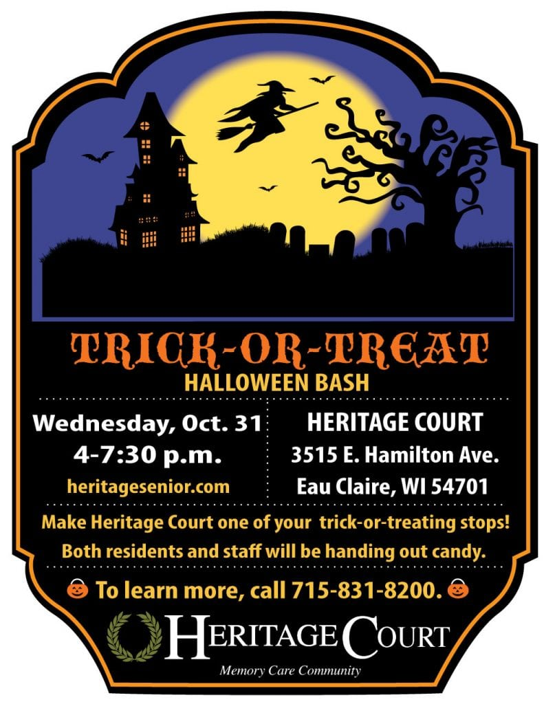 Heritage Court Menomonee Falls Trick or Treat