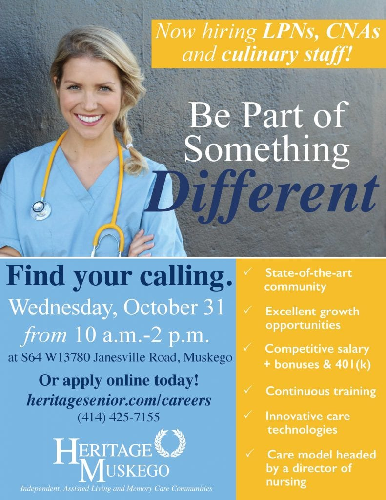 Heritage Muskego Career Discovery Fair
