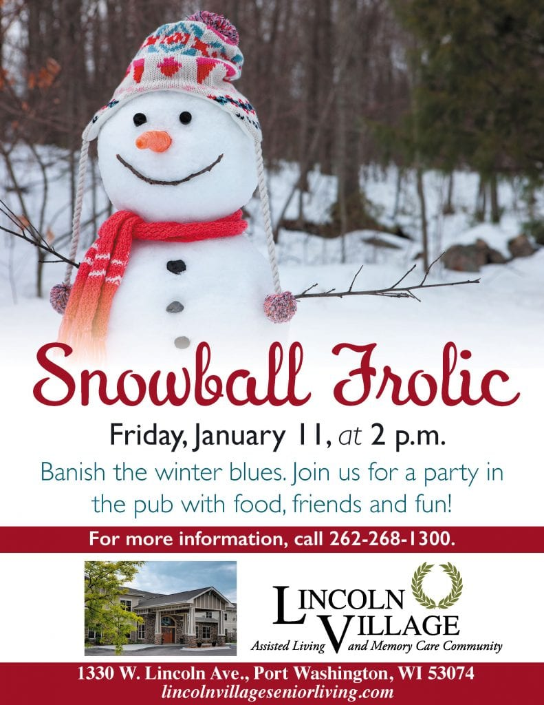 Lincoln Village Snowball Frolic