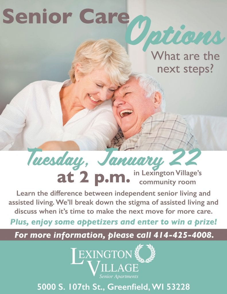 Lexington Village Senior Care Options