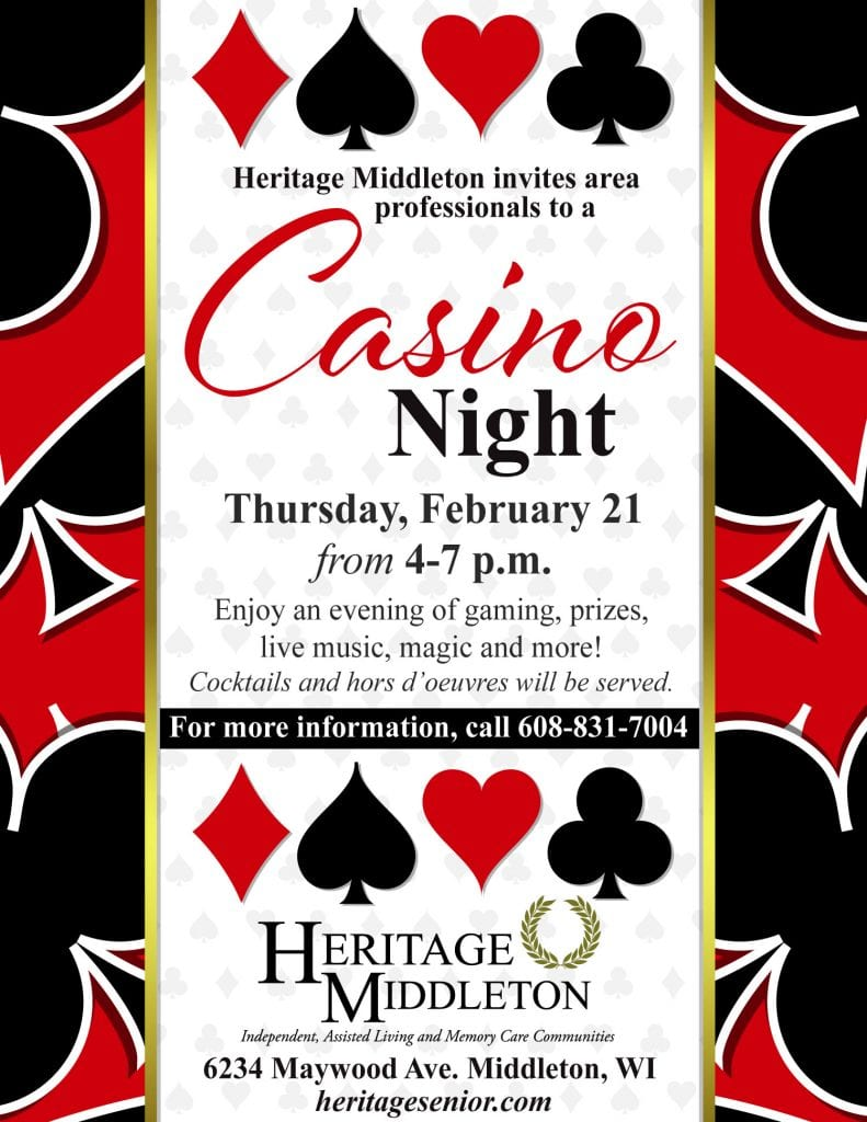 Heritage Middleton Casino Night for Professionals