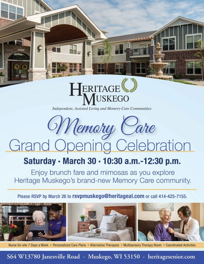 Heritage Muskego Memory Care Grand Opening