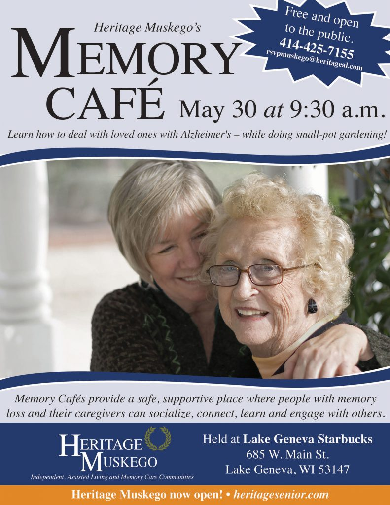 Heritage Muskego Memory Cafe