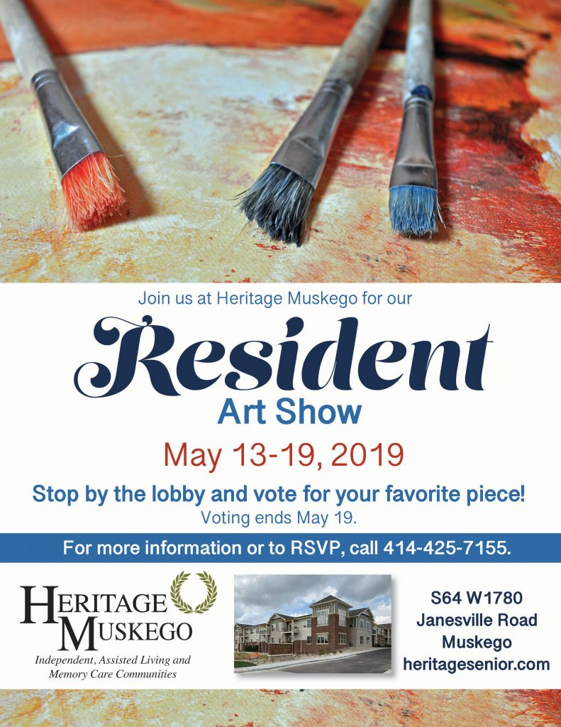 Heritage Muskego Resident Art Show