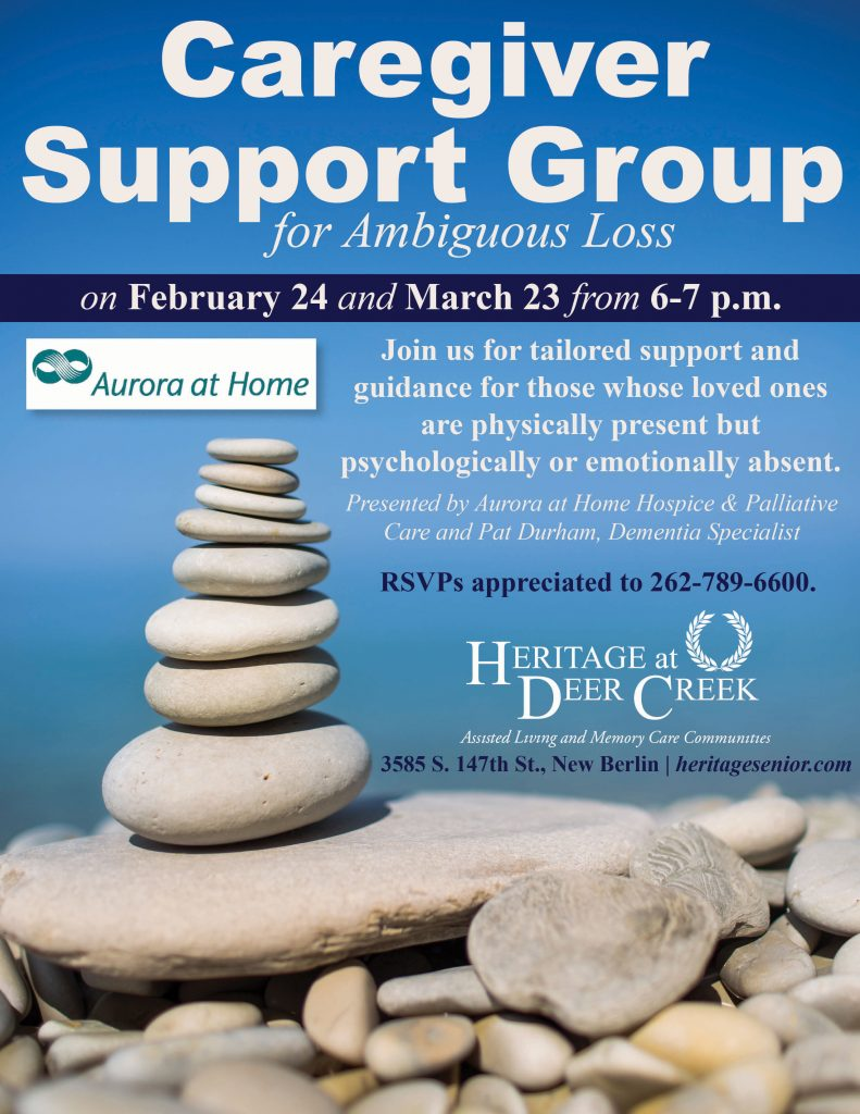 Heritage at Deer Creek Caregiver Support Group for Ambiguous Loss